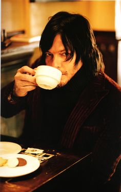 Norman Reedus  ***I would love to have coffee with you everymorning & I bet it's good until the last drop!***MHS