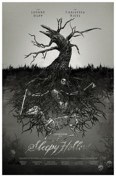 Alternative movie posters - etchings by Mike Godwin, via Behance Sleepy Hollow Tim Burton, Drypoint Etching, Horror Pictures, Headless Horseman, Alternative Movie Posters, Movie Poster Art, Fan Art, Filmmaking, Art History