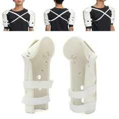 Adjustable Shoulder Support Sprain Fracture Brace Guard Shoulder Support Brace, Posture Corrector, Sprain, Good Posture, Braces, Pain Relief, Ankle, Health, Stress
