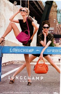 Love Longchamp's recent campaign, featuring Coco Rocha!