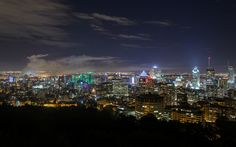 https://flic.kr/p/yPiJ9Y | Montreal Skyline at Night