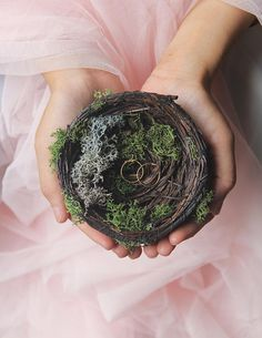 Bird Nest Ring Bearer
