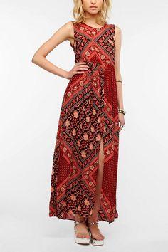 MINKPINK Scorpio Sleeveless Maxi Dress  #UrbanOutfitters