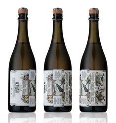 beautiful wine labels