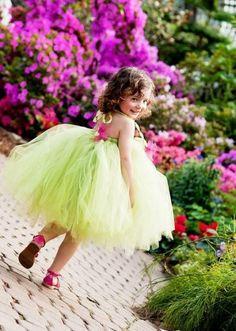 Lime Sorbet Tutu Dress Price: 2500/- Size: 2-3 years 3-4 years, #babytutudress