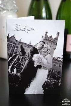 Landscape Folded Wedding Thank You Cards We Make A Lot Of At Wedfest