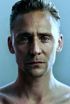 Tom Hiddleston—it's ridiculous how strong the desire to comfort him is when I look at this picture.