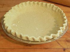 Gluten-Free Flakey Pastry Crust Makes 1 or pie; or 2 or pies Many people prefer the speed and ease of combining pastry in a food processor. I shamelessly (and … Gluten Free Pastry, Gluten Free Pie Crust, Gluten Free Cooking, Gluten Free Deserts, Gluten Free Cakes, Foods With Gluten, Wheat Free Recipes, Dairy Free Recipes, Keto Recipes