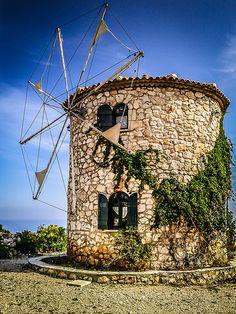 The Stone Windmill, Zakynthos, Greece | Flickr