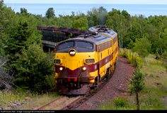 RailPictures.Net Photo: CE 4210 Cliffs Erie Railroad EMD F9(A) at Taconite Harbor, Minnesota by christophersmuller.com