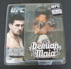 Ultimate Collector UFC Fighter Demian Maia Figure Round5 Zuffa 6 inches Tall #Round5Zuffa