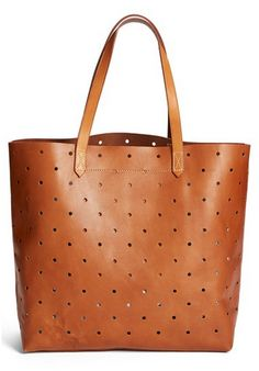 hole punch tote / madewell