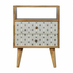Solid Wood Structure Mango Wood Crafted By Hand Oak-ish Painted Secure Packaging Timber EU Compliant This 2 drawer bedside has been constructed from Solid Wood Bedroom Furniture, Painted Furniture, Luxury Furniture, Vintage Furniture, Bedside Cabinet, Nightstand, Dresser, Furniture Collection, Screen Printing