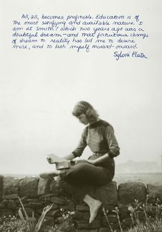 « Nothing stinks like a pile of unpublished writing. » The Bell Jar, Sylva Plath