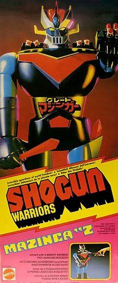 shogun warriors mazinger z