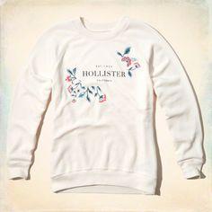 Logo Graphic Boyfriend Sweatshirt