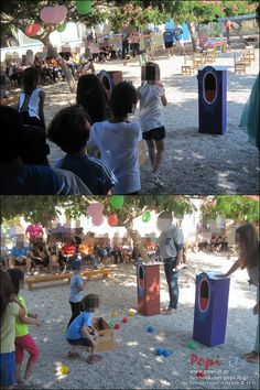 Καλοκαιρινή γιορτή με ομαδικά παιχνίδια Group Activities, Outdoor Games, Diy And Crafts, Dolores Park, Songs, Education, School, Summer, Kids