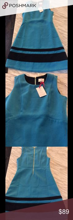 """Julie Brown Dress New w/ tags Julie Brown dress.  Super cute in vibrant blue.  Fully lined.  Length measures approximately 35 1/2"""".  Ships same day of purchase. Julie Brown Dresses Midi"""