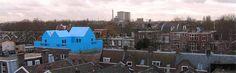 Mooi blauw is niet lelijk. Beatrijsstraat 71, Rotterdam