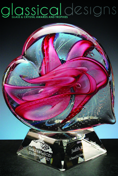 A Caring Heart for a Caring Person#Recognition  #awards #gifts #glassicaldesigns #custom #appreciation #Volunteer