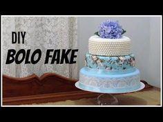 Bolo em EVA sem emenda com Denise Costa - YouTube Bolo Fack, Minnie, Shower Gifts, Diy, Sweets, Youtube, Cake, Ideas, Wedding