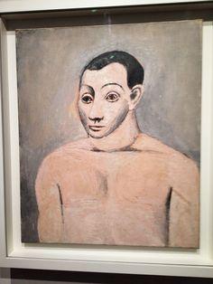 Auto-retrato de Picasso (Foto: Matheus Pinheiro de Oliveira e Silva)                                                                                                                                                                                 Mais