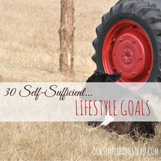 Been dreaming of creating more self-sufficient lifestyle goals for you and your family? @oursimple shows you how!