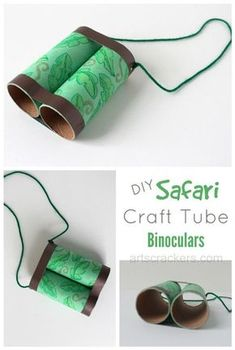 Safari binoculars: so fun for kids summer fun and outdoor adventure.