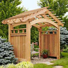 Estructuras del patio trasero