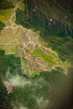 Peru. A very rare overhead shot of Machu Picchu; this place is AWESOME!!  would definitely go back