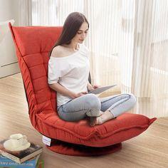 Sofa Chair, Swivel Chair, Hammock Chair, Floor Sitting, Chair Fabric, Cool Chairs, Gaming Chair, Dorm Room, Chairs