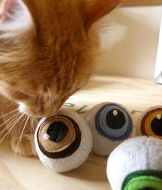kitty catnip eyeballs..