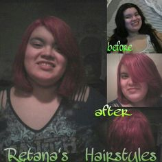 New hair color & cut