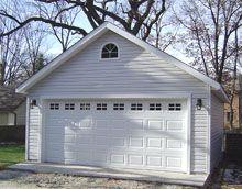 Two car garage plan 560 1 20 39 x 28 39 by behm design for 20x24 garage kit