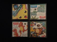 Vintage Pokemon Repurposed Japanese Comic Book by EpicButtons, $25.00