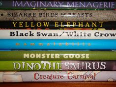 Wild Rose Reader: POETRY FRIDAY: Book Spine Poems