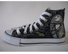 Nightmare before christmas converse all star size 6: Amazon.co.uk: Kitchen & Home