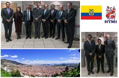 The HTMi staff and students were very honored to a have a visit from the Ecuadorian Ambassador to Switzerland Holguin, Salvador, Switzerland, Commercial, Students, David, Savior, El Salvador