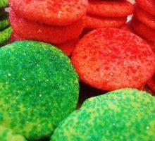 Merry Christmas Jell-O Cookies