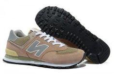 3ff79e4093d Comprar Mujer New Balance 574 Zapatillas Gris Amarillo Baratas Online