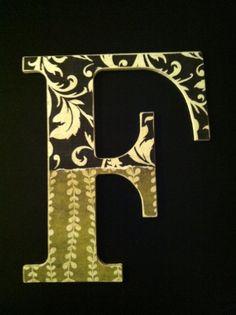 """Letter """"F"""" Wall Hanger"""