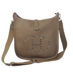 4cde5d059e071f Wholesale Réplique Hermes Evelyne Messenger Bag H1608 Gris - €213.43   réplique  sac a main, sac a main pas cher, sac de marque   imitation sac hermes ...
