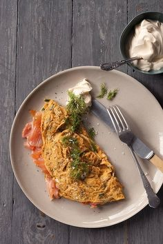 The classic omelet (recipe here).