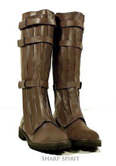 Steampunk Renaissance Riding Star Wars Jedi Halloween Cosplay Pirate Men's Boots | eBay