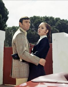 Diana Rigg and George Lazenby (On Her Majesty's Secret Service - 1969)