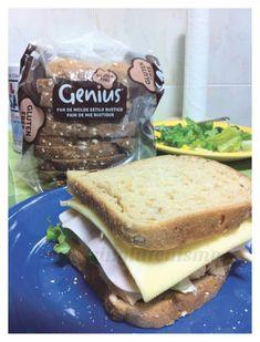 El sandwich sin gluten perfecto Sin Gluten, Sandwiches, Pancakes, Bread, Fresco, Breakfast, Food, Dinners, Food Recipes