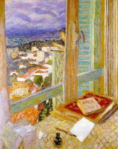 """""""Window"""" Pierre Bonnard"""