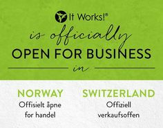 It Works! is expanding.  Is your business?