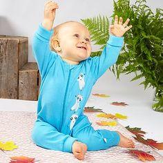 Nalle potkupuku - Jesper Junior   FAOR Oy Baby Wearing, Autumn, Long Sleeve, Sleeves, Tops, Women, Fashion, Moda, Fall Season