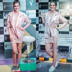 Kriti Sanon attends New Sketchers Shoes Launch 2017 Event Katrina Kaif Hot Pics, Sketchers Shoes, Bollywood, Product Launch, Coat, Jackets, Fashion, Down Jackets, Moda